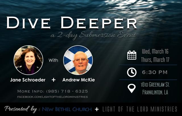 Dive Deeper - Event Poster 2
